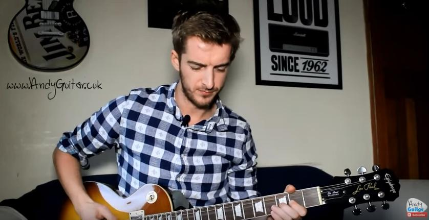 How to play Easy Rock Guitar by Andy Crowley