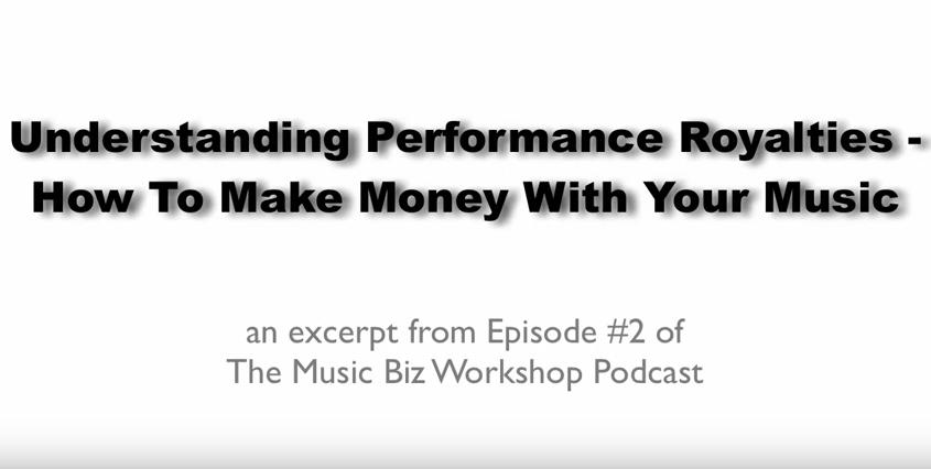 How To Make Money With Your Music